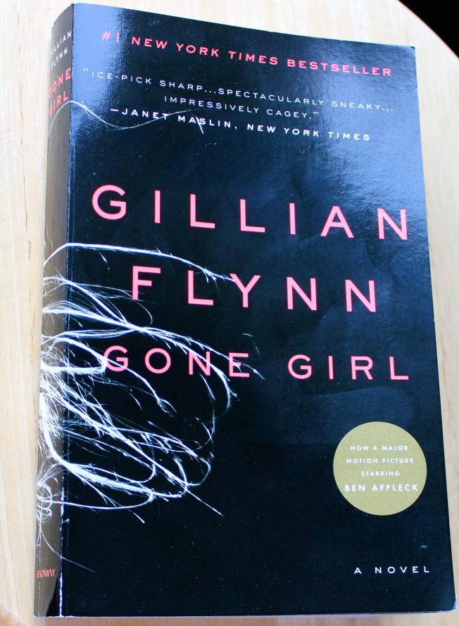 'Gone Girl' book, good books, creative books, mystery books,