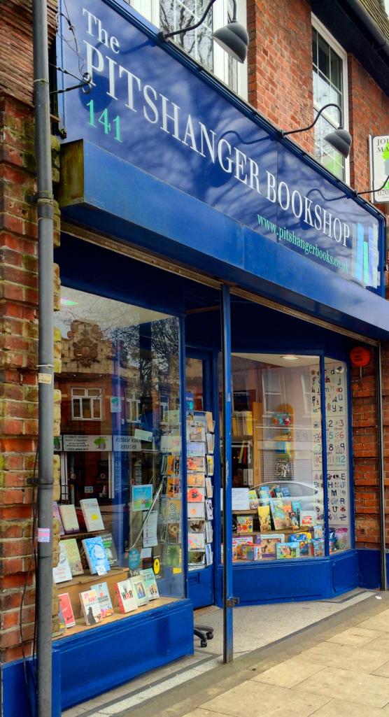 Pits hanger Book Shop