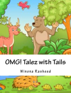 Talez with Tails print cover for amazon